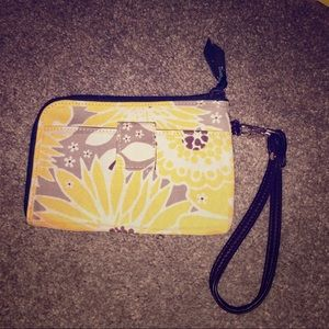 Thirty One zippered wristlet